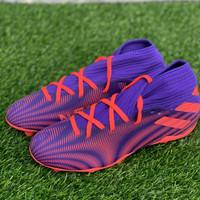 Sepatu bola adidas original Nemeziz. 3 FG ungu orange new 2020