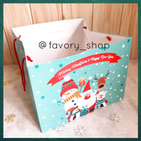 Christmas Paper Bag uk 27x27 / Tas Kertas Packaging Natal