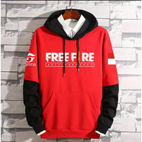 Jaket FreeFire Hoodie Anak / Sweater Free Fire anak Zipper