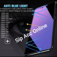 Temper Glass Anti Blue / Anti UV OPPO A53 A52 A92 A33 A37 A57 A83 A12