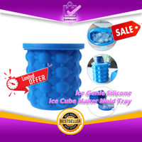 Ice Genie Silicone Ice Bucket Ice Cube Maker Mold Tray 0574