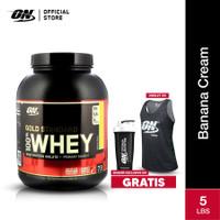 Optimum Nutrition 100% Gold Standard Whey 5Lbs Banana