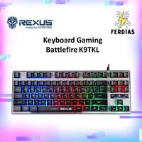 Keyboard Gaming RGB Rexus Battlefire K9TKL Sangat Ekonomis - FERDIAS