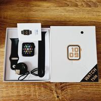 JAM TANGAN SMARTWATCH ELEGANT BEST PERFORMENCE MJ41650 +BATERAI+Box