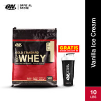 Optimum Nutrition 100% Gold Standard Whey 10Lbs Vanilla Ice Cream