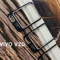 VIVO V20 RING ALOY CAMERA TEMPERED GLASS KAMERA SCREEN GUARD PROTECTOR