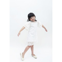 ESYE KIDS - Elena Lace Dress White