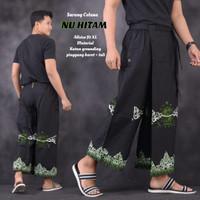 fillea Nu hitam new sarung celana batik pria baju ibadah modern murah