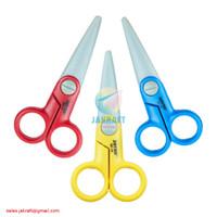 Gunting Kertas Anak Plastik Tumpul Aman 12.5 cm JOYKO SC-18 Kecil