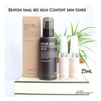 [SHARE IN JAR] Benton Snail Bee High Content Skin Toner 25Ml