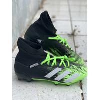 Sepatu bola adidas original Predator 20.3 FG stabilo black new 2020