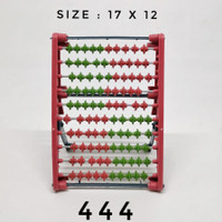Sempoa Abacus Mainan Anak Edukatif / Alat Bantu Belajar Anak