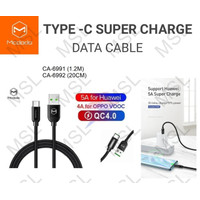 Mcdodo Kabel Data Type C 5A SuperCharge VOOC QC4.0 Fast Charge CA-699