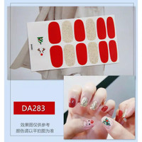 sticker kuku/ sticker nail art/ sticker kuku natal
