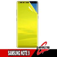 Anti Gores Samsung Note 9 Screen Guard Hydrogel Note 9