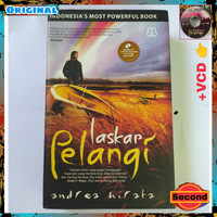 Novel Laskar Pelangi By Andrea Hirata Original Hardcover + Bonus CD