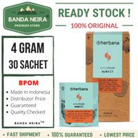 Herbana Kunyit Powder 30 Sachet 4 Gram