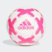 Bola lapangan besar soccer Adidas original STARLANCER putih pink