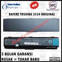 BATERE BATERAI LAPTOP ORIGINAL TOSHIBA A200 A300 L200 M200 PA3534U-1BR