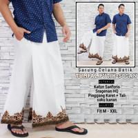 fillea Tumpal iput sarung celana batik pria baju ibadah modern murah