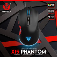 Mouse Gaming Fantech Phantom X15 Gaming RGB Gaming Original