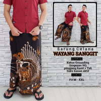 fillea Wayangsanggit sarung celana batik pria baju ibadah modern murah