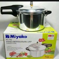 panci bertekanan uap/pressure cooker miyako pc 700