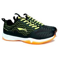 Sepatu Badminton Li-Ning Cloud Ace G7 - Black/Lime - 39