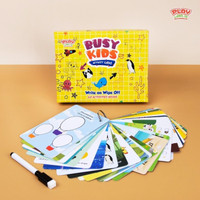 Busy Kids Activity Cards Playlabs - Mainan Edukasi Anak Kartu