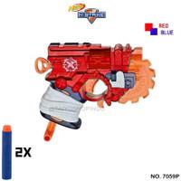 Mainan Anak Nerf Gun FireStrike 7059P   Senjata Pistol Tembakan