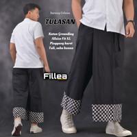 fillea Tulasan new sarung celana batik pria baju ibadah modern murah