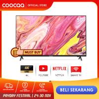 COOCAA Smart LED TV 50 inch 4K Netflix TV - Ultra HD- Wifi ( 50S3N)
