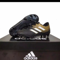 Sepatu bola anak Adidas size 28-32 - hitam emas, 28