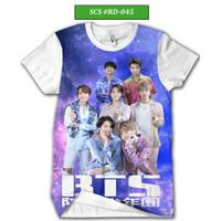 Kaos BTS Army Series Baju BTS Keren dan Trendy #RD-045 - Putih, XS