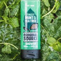 Sabun Mandi Shower gel Mint & Tea Tree Original Source 250 mL
