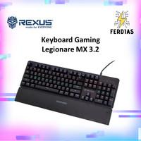 Keyboard Gaming RGB Mechanical Rexus Legionare MX 3.2 - FERDIAS