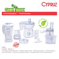 Blender Food processor 7 in 1 Daya 400 Watt Cypruz FR-0032