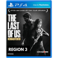 THE LAST OF US® : REMASTERED   kaset bd ps4 game tlou ps4 ps 4 games - R 3 ASIA ALL