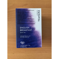 Teavana Tea Teh Starbucks Instant English Breakfast 12 Bags