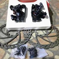 Disc Brake dan Rotor Sepeda Mekanik RADIUS BRCX7 160mm