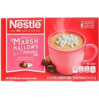 Nestle Hot Cocoa Mix, Mini Marshmallows, Rich Milk Chocolate Flavor, 6
