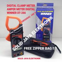 TANG AMPER METER WINNER DT-266 T CLAM METER TESTER DT266 DT 266 ASLI