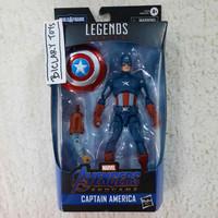 Marvel Legends Legend Captain America Avengers Endgame Cap Vs Cap SHF