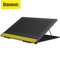 Dudukan Laptop Stand Baseus Mesh Portable Stand Holder Meja Laptop - Hitam