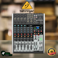 Behringer X1204USB 12-Input 2/2-Bus Mixer with USB/Audio Interface