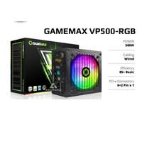 Power Supply PSU RGB GAMEMAX VP500 500Watt 80+