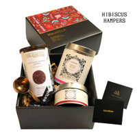 Hampers HIBISCUS | Haveltea x The Harvest | Choco Cookies & Tea Gifts