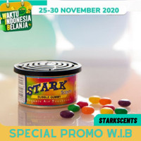 'STARK ORGANIC' Parfum Mobil Aroma BUBBLE GUM/Permen karet