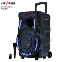 Speaker Bluetooth Advance K1502 Speaker PA Hi Fi Portable