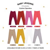 Legging Anak Polos Baby Legging Mooi